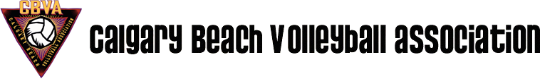 The Calgary Beach Volleyball Association Logo